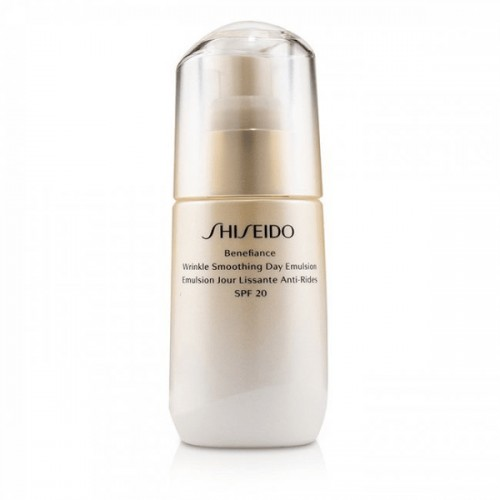 Shiseido Benefiance Wrinkle Smoothing Day Emulsion SPF20 75ml | Αντιγήρανση στο Aromatisou