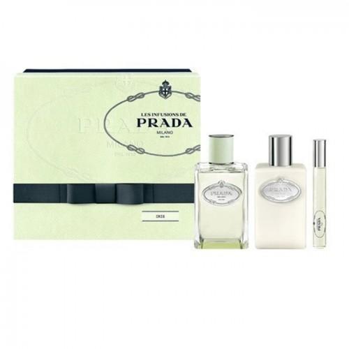 Prada Les Infusions Iris Eau de Parfum 100ml & Body Lotion 100ml & Roll On 10ml | Σέτ Αρωμάτων στο Aromatisou
