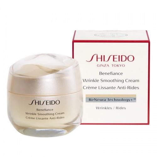 Shiseido Benefiance Wrinkle Smoothing Cream 50ml | Αντιγήρανση στο Aromatisou